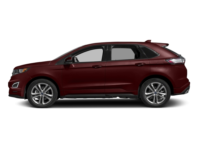 Burgundy Velvet Metallic Tinted Clearcoat 2018 Ford Edge Pictures Edge Sport AWD photos side view