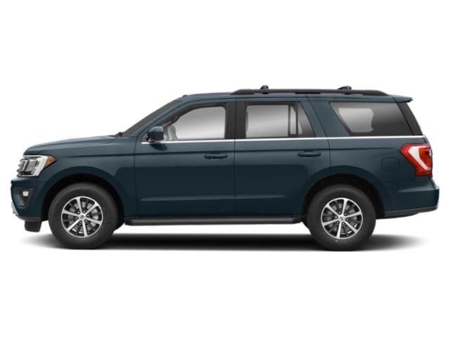 Blue Metallic 2018 Ford Expedition Pictures Expedition XL 4x2 photos side view