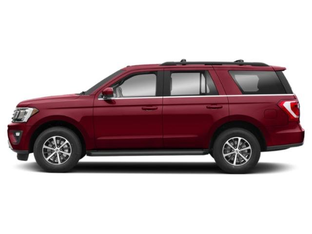 Ruby Red Metallic Tinted Clearcoat 2018 Ford Expedition Pictures Expedition Platinum 4x2 photos side view