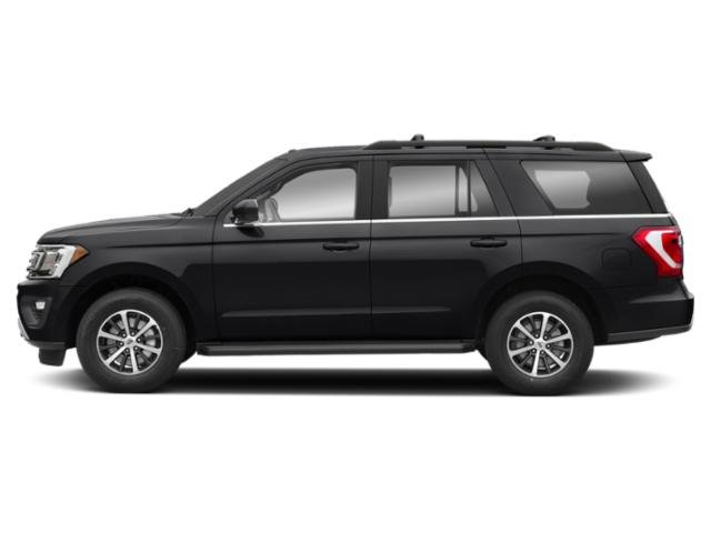 Shadow Black 2018 Ford Expedition Pictures Expedition Platinum 4x4 photos side view