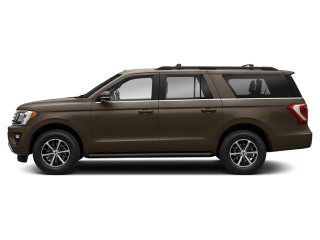 Stone Gray Metallic 2018 Ford Expedition Max Pictures Expedition Max Utility 4D Limited 2WD photos side view