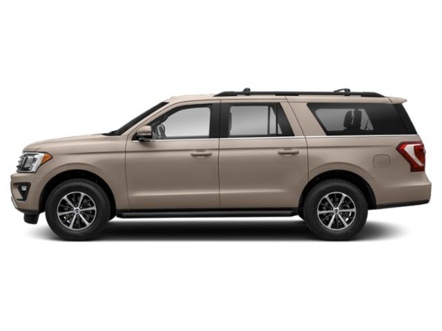 White Gold Metallic 2018 Ford Expedition Max Pictures Expedition Max Utility 4D Limited 2WD photos side view