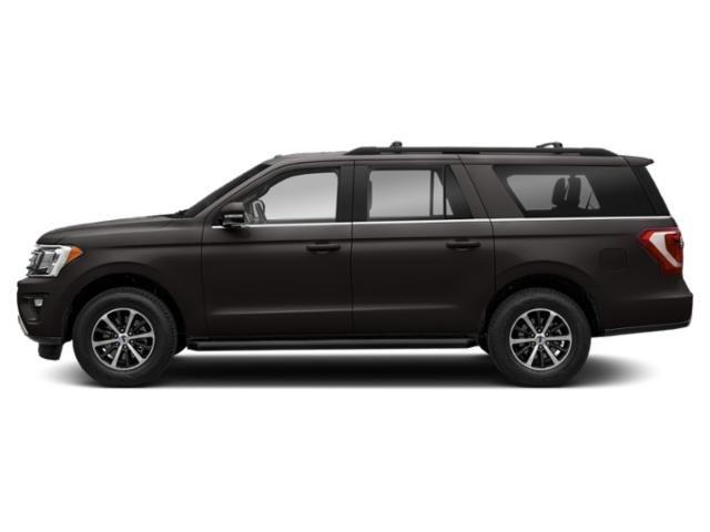 Magnetic Metallic 2018 Ford Expedition Max Pictures Expedition Max Utility 4D Limited 2WD photos side view