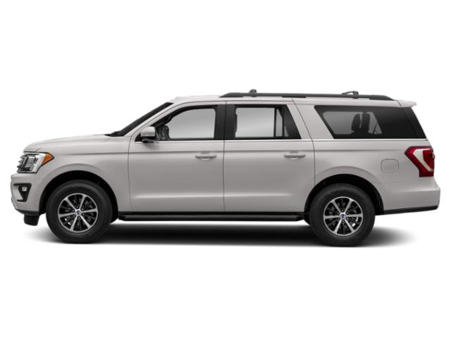 White Platinum Metallic Tri-Coat 2018 Ford Expedition Max Pictures Expedition Max XLT 4x2 photos side view