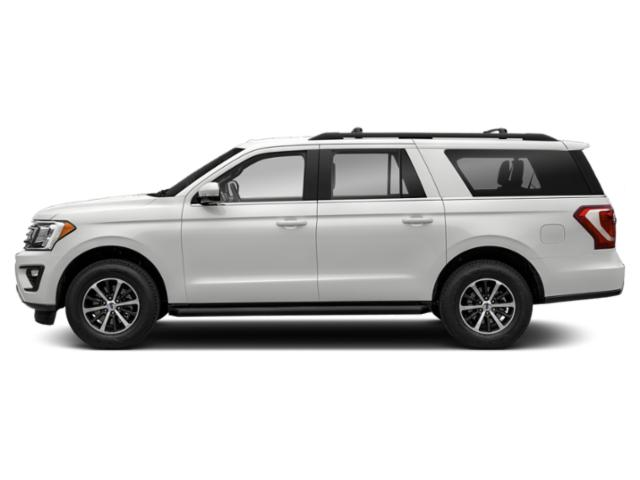 Oxford White 2018 Ford Expedition Max Pictures Expedition Max Utility 4D Limited 2WD photos side view