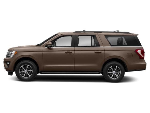 Stone Gray Metallic 2018 Ford Expedition Max Pictures Expedition Max Platinum 4x2 photos side view