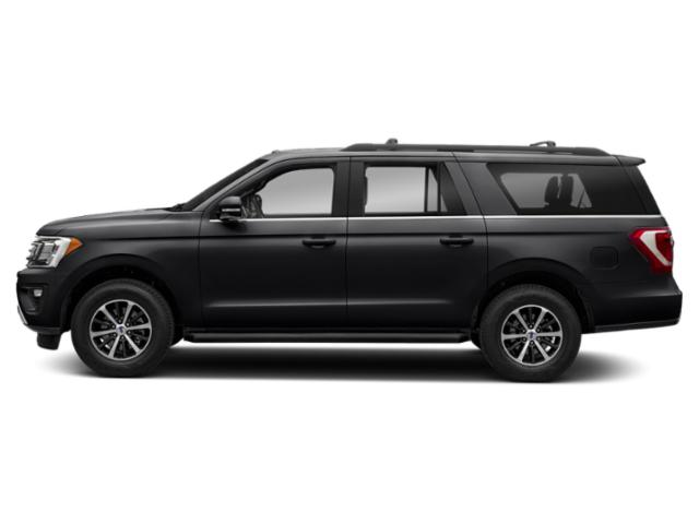 Shadow Black 2018 Ford Expedition Max Pictures Expedition Max XLT 4x2 photos side view