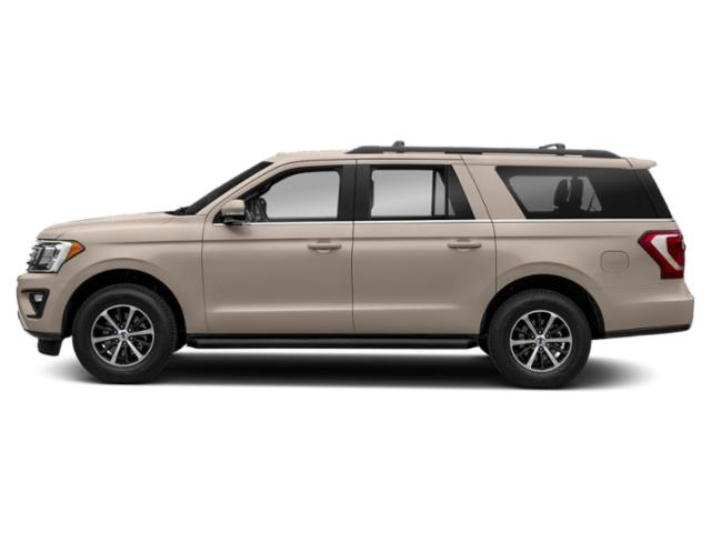 White Gold Metallic 2018 Ford Expedition Max Pictures Expedition Max Platinum 4x2 photos side view