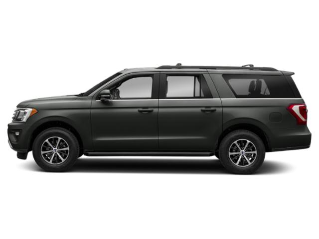 Magnetic Metallic 2018 Ford Expedition Max Pictures Expedition Max XLT 4x2 photos side view
