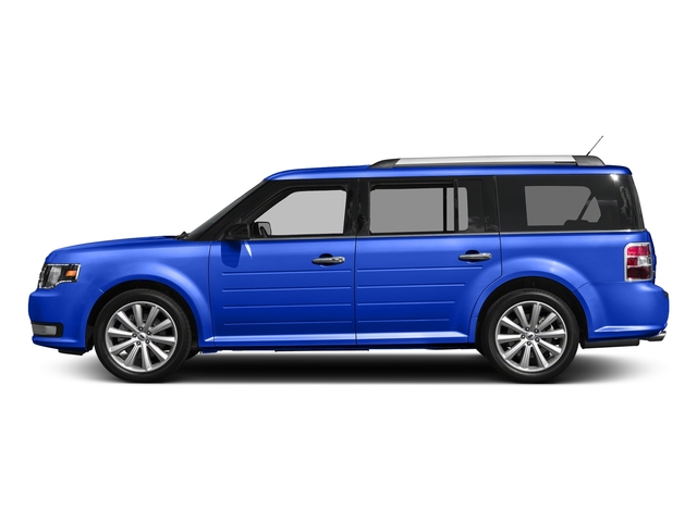 Blue Metallic 2018 Ford Flex Pictures Flex SE FWD photos side view