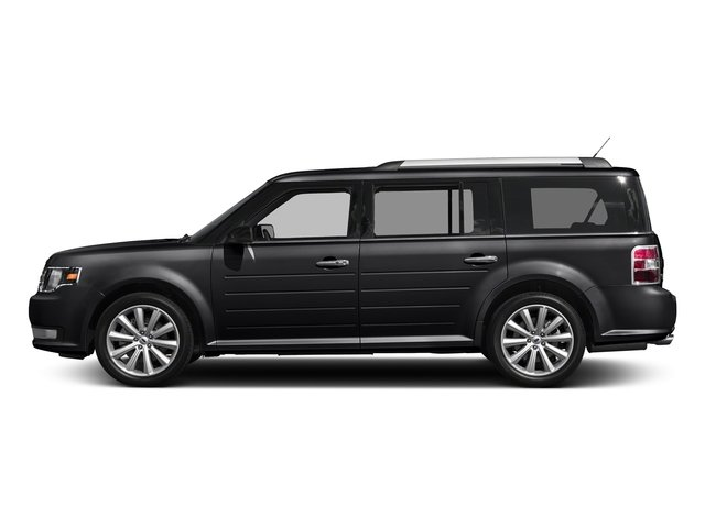 Shadow Black 2018 Ford Flex Pictures Flex SE FWD photos side view