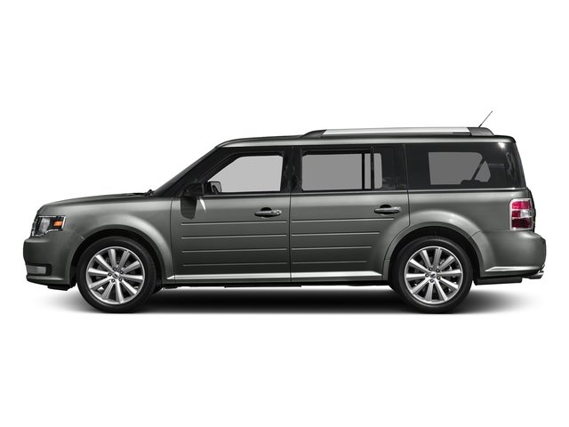 Magnetic Metallic 2018 Ford Flex Pictures Flex SE FWD photos side view