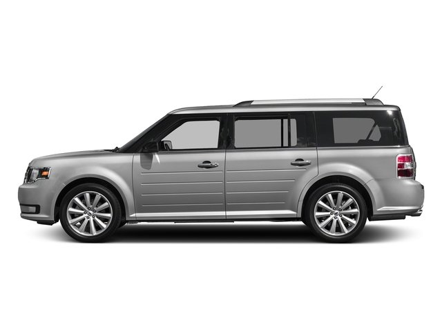 Ingot Silver Metallic 2018 Ford Flex Pictures Flex SE FWD photos side view
