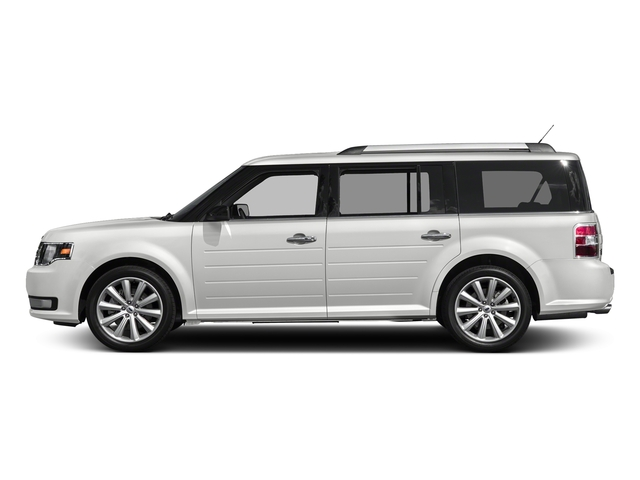Oxford White 2018 Ford Flex Pictures Flex SE FWD photos side view