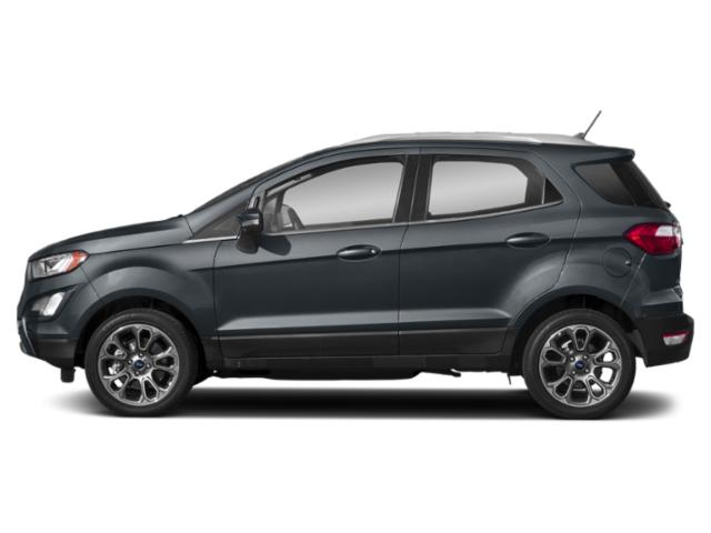 Smoke Metallic 2018 Ford EcoSport Pictures EcoSport Titanium FWD photos side view