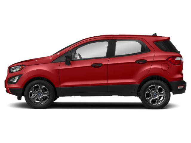 Race Red 2018 Ford EcoSport Pictures EcoSport Utility 4D S AWD photos side view
