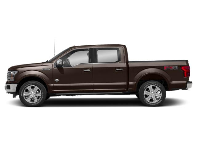 Magma Red Metallic 2018 Ford F-150 Pictures F-150 King Ranch 2WD SuperCrew 5.5' Box photos side view