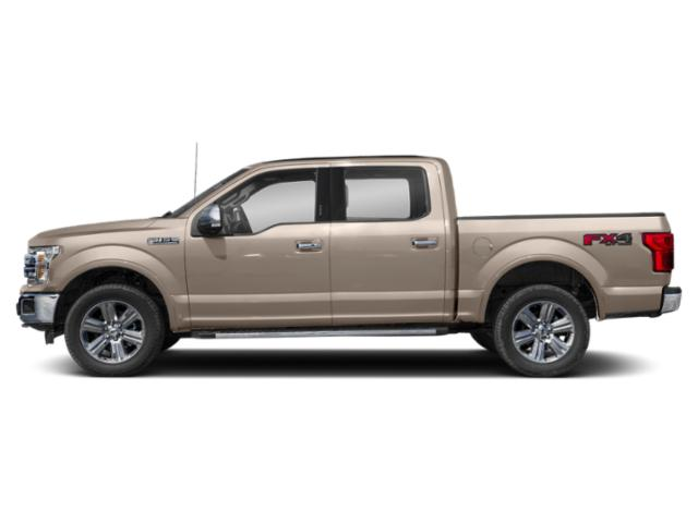 White Gold 2018 Ford F-150 Pictures F-150 King Ranch 4WD SuperCrew 6.5' Box photos side view