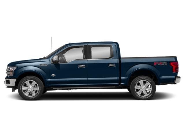 Blue Jeans Metallic 2018 Ford F-150 Pictures F-150 King Ranch 4WD SuperCrew 6.5' Box photos side view