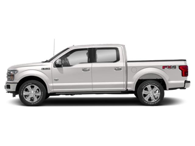 White Platinum Metallic Tri-Coat 2018 Ford F-150 Pictures F-150 King Ranch 4WD SuperCrew 6.5' Box photos side view