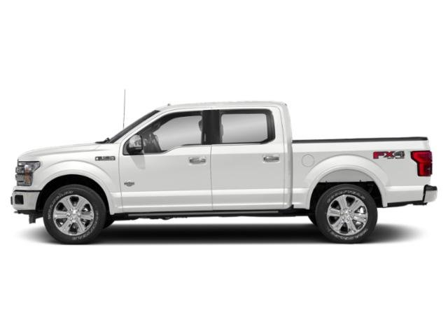 Oxford White 2018 Ford F-150 Pictures F-150 King Ranch 2WD SuperCrew 5.5' Box photos side view