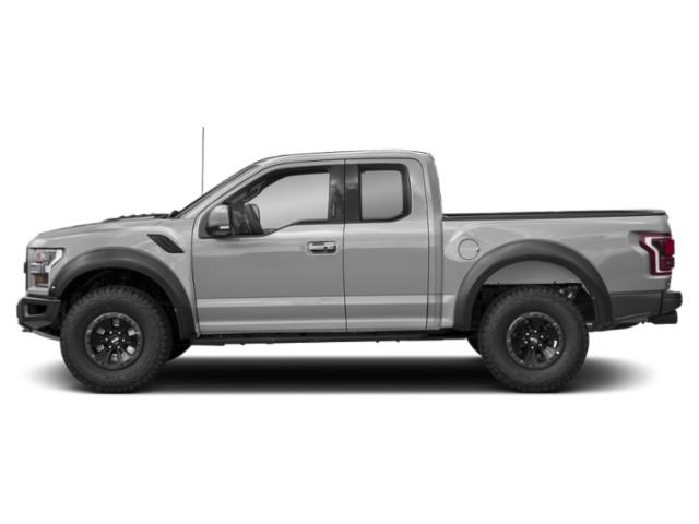 Ingot Silver Metallic 2018 Ford F-150 Pictures F-150 Raptor 4WD SuperCab 5.5' Box photos side view