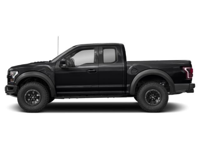 Shadow Black 2018 Ford F-150 Pictures F-150 Raptor 4WD SuperCab 5.5' Box photos side view