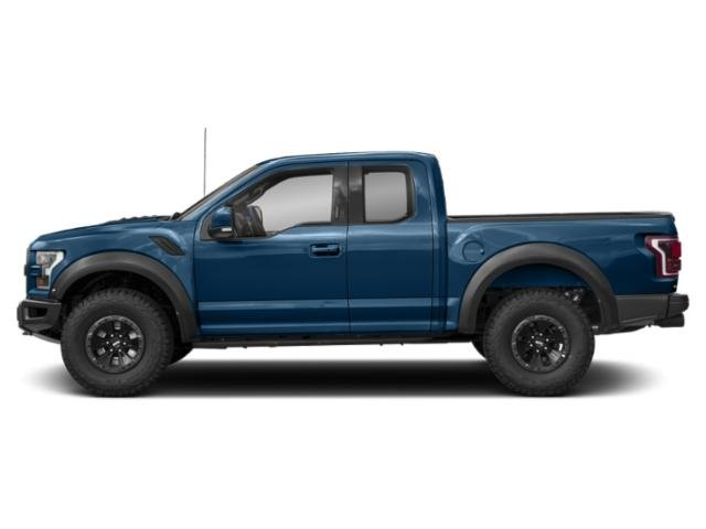 Lightning Blue 2018 Ford F-150 Pictures F-150 Raptor 4WD SuperCab 5.5' Box photos side view