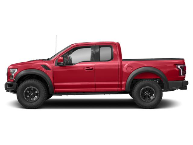 Race Red 2018 Ford F-150 Pictures F-150 Raptor 4WD SuperCab 5.5' Box photos side view