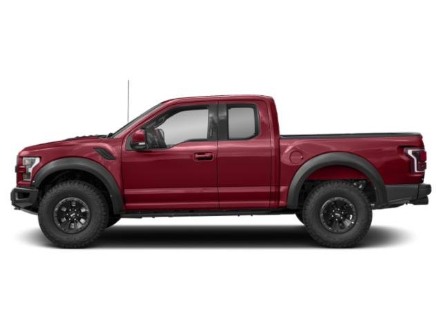 Ruby Red Metallic Tinted Clearcoat 2018 Ford F-150 Pictures F-150 Raptor 4WD SuperCab 5.5' Box photos side view
