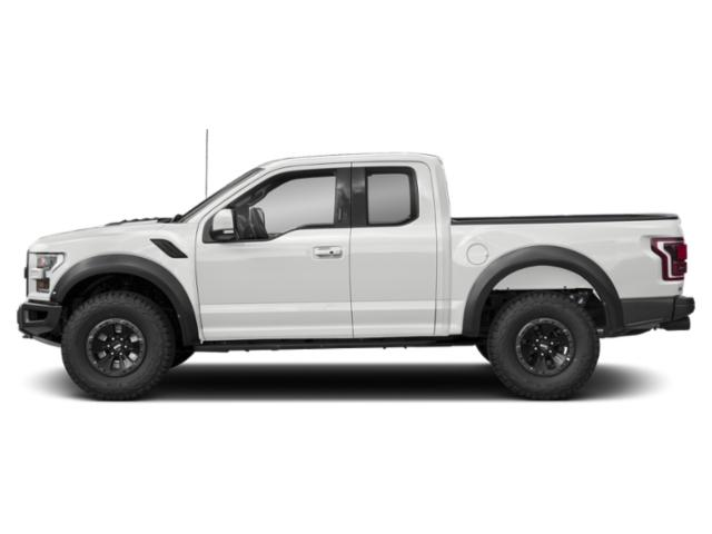 Oxford White 2018 Ford F-150 Pictures F-150 Raptor 4WD SuperCab 5.5' Box photos side view