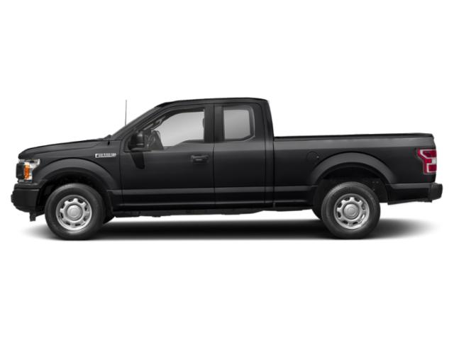 Shadow Black 2018 Ford F-150 Pictures F-150 LARIAT 2WD SuperCab 6.5' Box photos side view