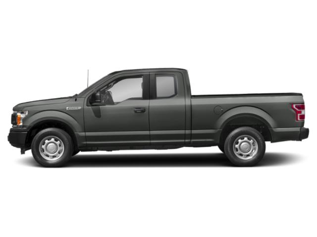 Magnetic Metallic 2018 Ford F-150 Pictures F-150 LARIAT 2WD SuperCab 6.5' Box photos side view