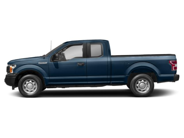 Blue Jeans Metallic 2018 Ford F-150 Pictures F-150 LARIAT 2WD SuperCab 6.5' Box photos side view