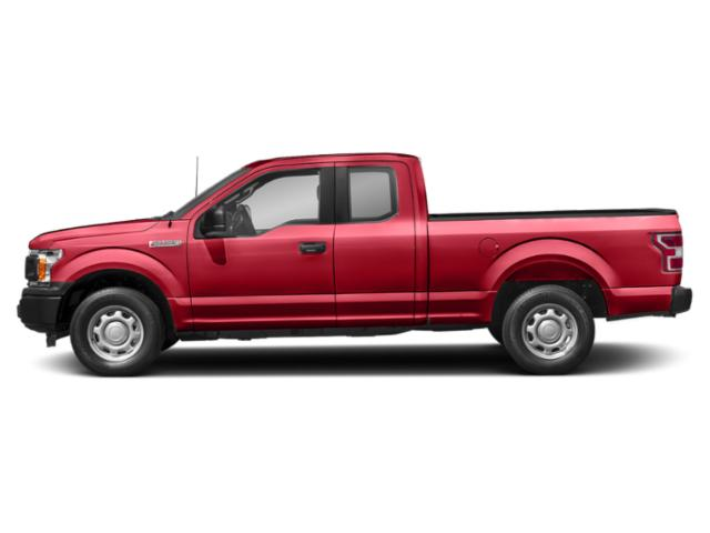 Race Red 2018 Ford F-150 Pictures F-150 LARIAT 2WD SuperCab 6.5' Box photos side view