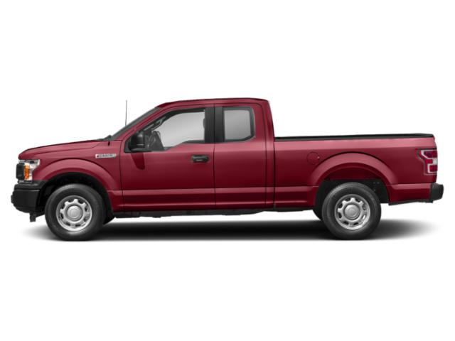 Ruby Red Metallic Tinted Clearcoat 2018 Ford F-150 Pictures F-150 LARIAT 2WD SuperCab 6.5' Box photos side view