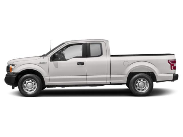 White Platinum Metallic Tri-Coat 2018 Ford F-150 Pictures F-150 LARIAT 2WD SuperCab 6.5' Box photos side view