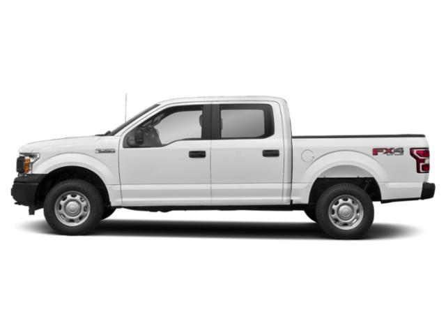 Oxford White 2018 Ford F-150 Pictures F-150 XL 2WD SuperCrew 5.5' Box photos side view