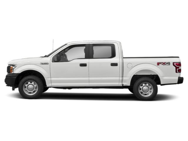 Oxford White 2018 Ford F-150 Pictures F-150 XL 4WD SuperCrew 6.5' Box photos side view