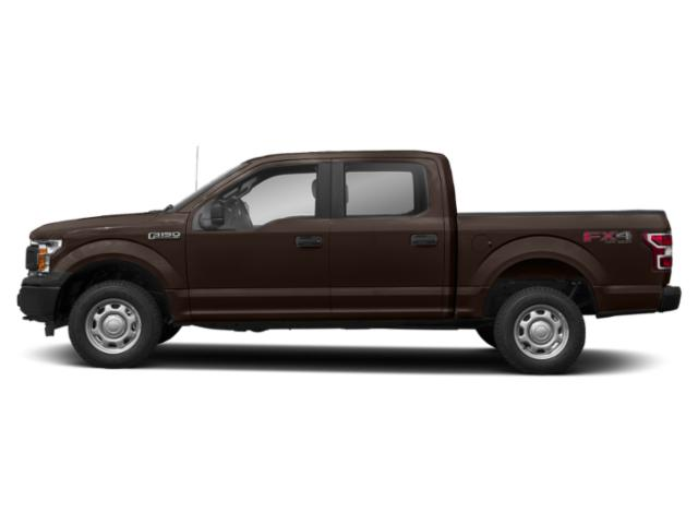 Magma Red Metallic 2018 Ford F-150 Pictures F-150 XL 2WD SuperCrew 5.5' Box photos side view