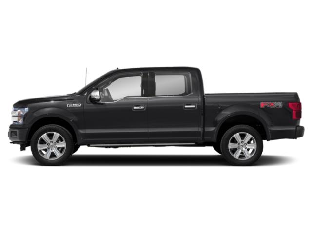 Shadow Black 2018 Ford F-150 Pictures F-150 XL 2WD SuperCrew 5.5' Box photos side view