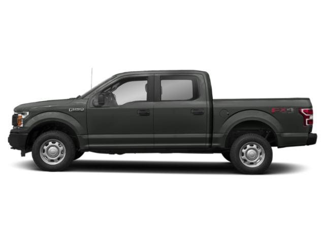 Magnetic Metallic 2018 Ford F-150 Pictures F-150 XL 2WD SuperCrew 5.5' Box photos side view