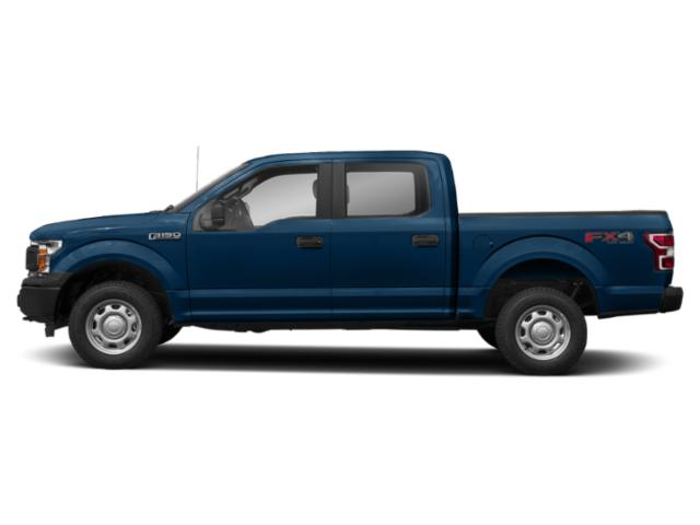 Lightning Blue 2018 Ford F-150 Pictures F-150 XL 2WD SuperCrew 5.5' Box photos side view