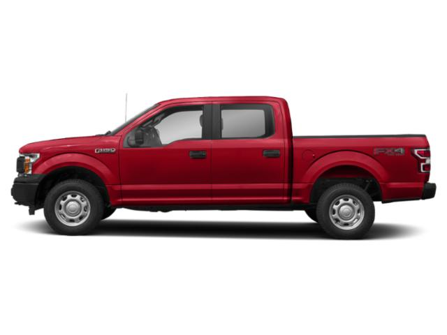 Race Red 2018 Ford F-150 Pictures F-150 XL 2WD SuperCrew 5.5' Box photos side view