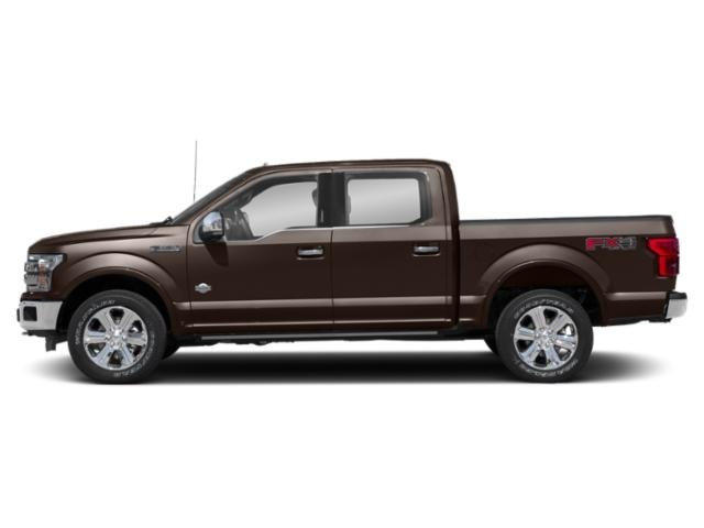 Magma Red Metallic 2018 Ford F-150 Pictures F-150 Crew Cab Lariat 4WD photos side view