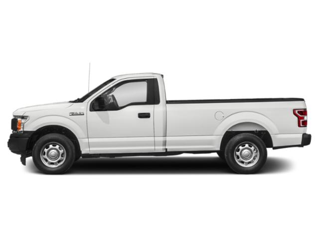 Oxford White 2018 Ford F-150 Pictures F-150 XL 4WD Reg Cab 8' Box photos side view