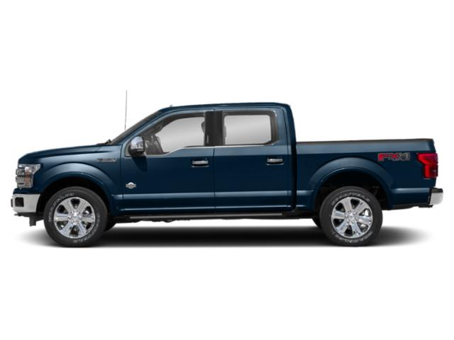 Blue Jeans Metallic 2018 Ford F-150 Pictures F-150 Crew Cab Lariat 4WD photos side view