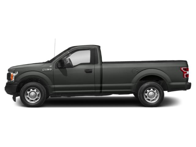Magnetic Metallic 2018 Ford F-150 Pictures F-150 XL 4WD Reg Cab 8' Box photos side view