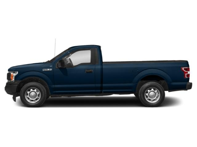 Blue Jeans Metallic 2018 Ford F-150 Pictures F-150 XL 4WD Reg Cab 8' Box photos side view