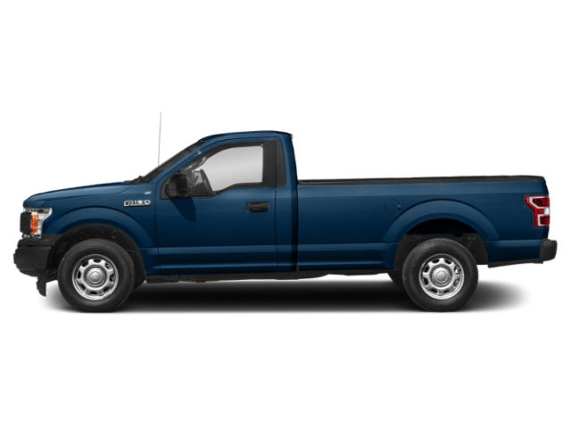 Lightning Blue 2018 Ford F-150 Pictures F-150 XL 4WD Reg Cab 8' Box photos side view